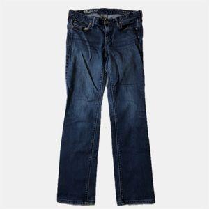 Madewell Stretch Straight Leg Jeans